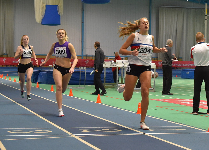 GGS_0009.jpg :: in action during the Welsh Junior Athletics Championships 2019 at N.I.A.C Cardiff United Kingdom on February 02 2019 Graham / GlennSports