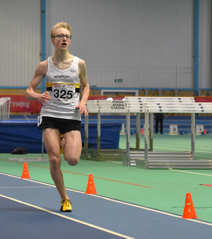 GGS_0010.jpg :: in action during the Welsh Junior Athletics Championships 2019 at N.I.A.C Cardiff United Kingdom on February 02 2019 Graham / GlennSports