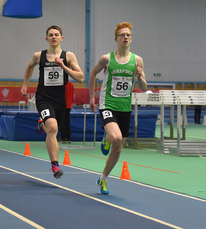 GGS_0013.jpg :: in action during the Welsh Junior Athletics Championships 2019 at N.I.A.C Cardiff United Kingdom on February 02 2019 Graham / GlennSports