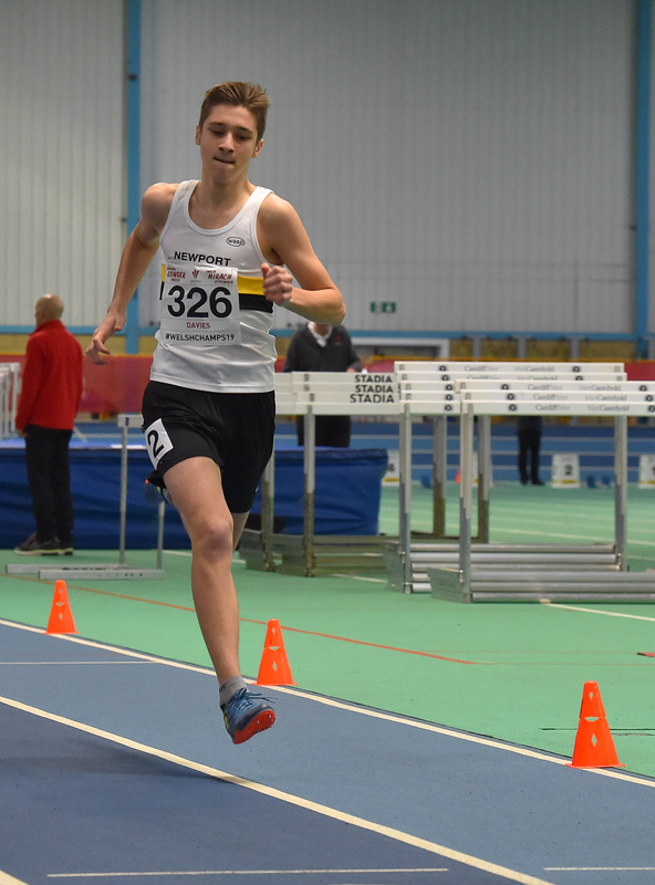 GGS_0014.jpg :: in action during the Welsh Junior Athletics Championships 2019 at N.I.A.C Cardiff United Kingdom on February 02 2019 Graham / GlennSports