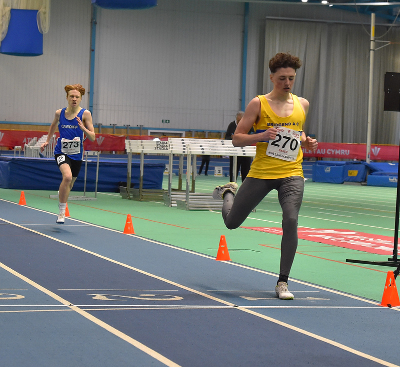 GGS_0018.jpg :: in action during the Welsh Junior Athletics Championships 2019 at N.I.A.C Cardiff United Kingdom on February 02 2019 Graham / GlennSports