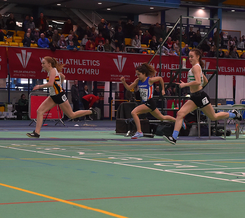 GGS_0028.jpg :: in action during the Welsh Junior Athletics Championships 2019 at N.I.A.C Cardiff United Kingdom on February 02 2019 Graham / GlennSports