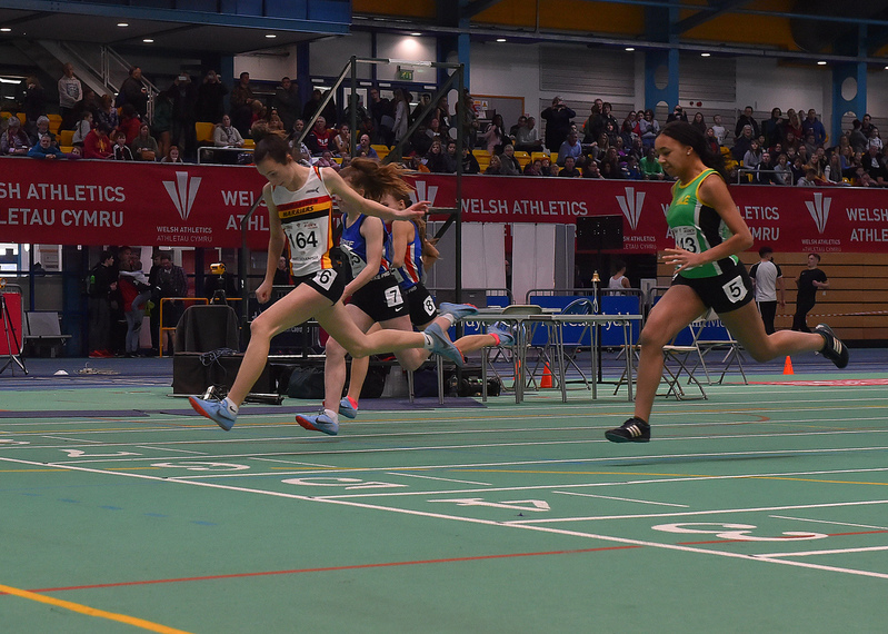 GGS_0031.jpg :: in action during the Welsh Junior Athletics Championships 2019 at N.I.A.C Cardiff United Kingdom on February 02 2019 Graham / GlennSports