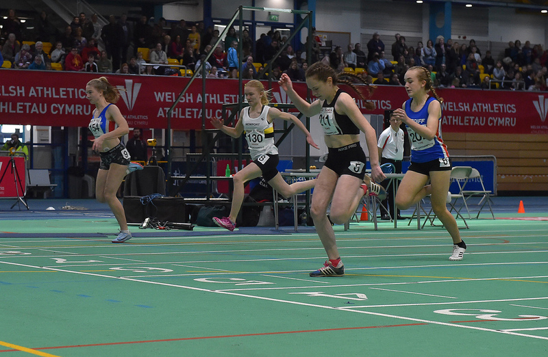 GGS_0033.jpg :: in action during the Welsh Junior Athletics Championships 2019 at N.I.A.C Cardiff United Kingdom on February 02 2019 Graham / GlennSports