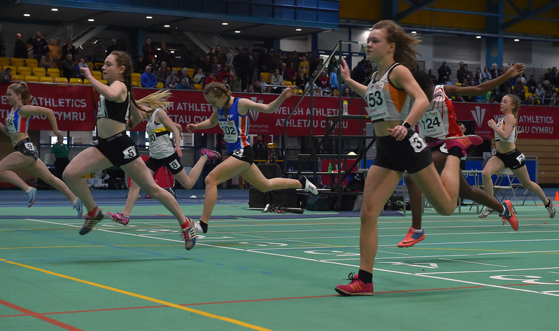 GGS_0034.jpg :: in action during the Welsh Junior Athletics Championships 2019 at N.I.A.C Cardiff United Kingdom on February 02 2019 Graham / GlennSports