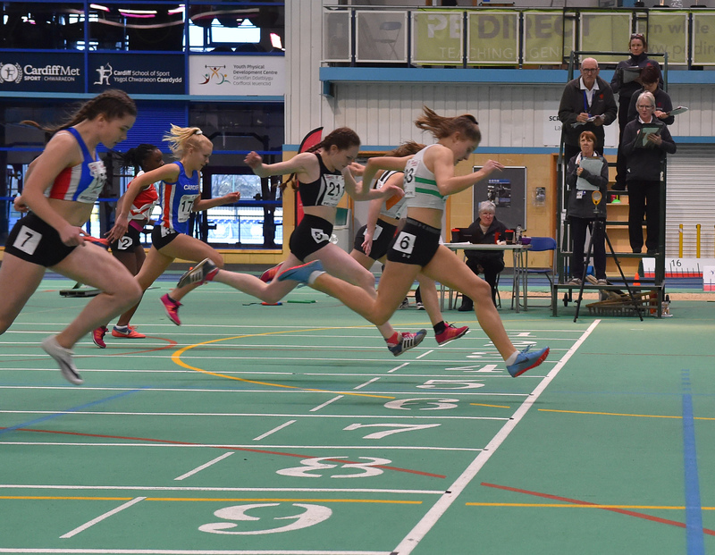 GGS_0041.jpg :: in action during the Welsh Junior Athletics Championships 2019 at N.I.A.C Cardiff United Kingdom on February 02 2019 Graham / GlennSports