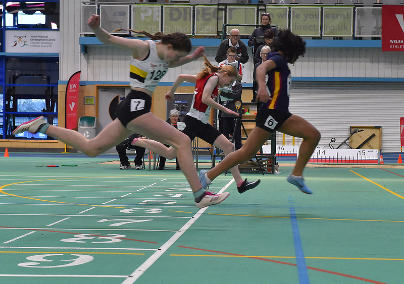 GGS_0043.jpg :: in action during the Welsh Junior Athletics Championships 2019 at N.I.A.C Cardiff United Kingdom on February 02 2019 Graham / GlennSports