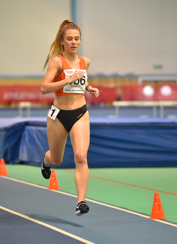 GGS_0053.jpg :: in action during the Welsh Junior Athletics Championships 2019 at N.I.A.C Cardiff United Kingdom on February 02 2019 Graham / GlennSports