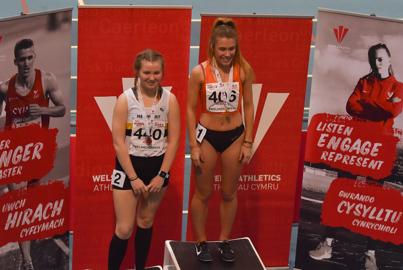 GGS_0078.jpg :: in action during the Welsh Junior Athletics Championships 2019 at N.I.A.C Cardiff United Kingdom on February 02 2019 Graham / GlennSports