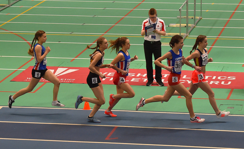 GGS_0081.jpg :: in action during the Welsh Junior Athletics Championships 2019 at N.I.A.C Cardiff United Kingdom on February 02 2019 Graham / GlennSports