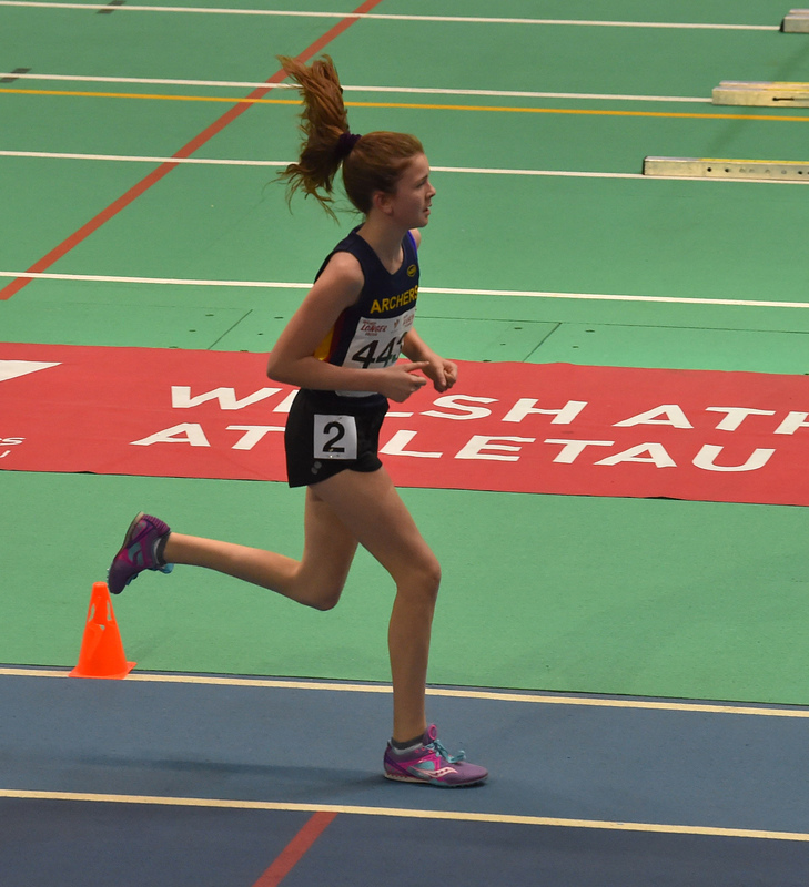 GGS_0082.jpg :: in action during the Welsh Junior Athletics Championships 2019 at N.I.A.C Cardiff United Kingdom on February 02 2019 Graham / GlennSports