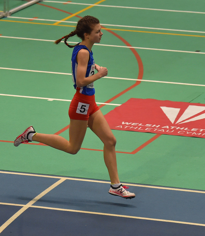 GGS_0084.jpg :: in action during the Welsh Junior Athletics Championships 2019 at N.I.A.C Cardiff United Kingdom on February 02 2019 Graham / GlennSports