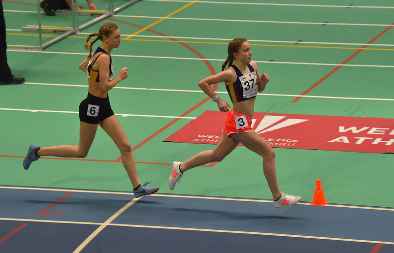 GGS_0085.jpg :: in action during the Welsh Junior Athletics Championships 2019 at N.I.A.C Cardiff United Kingdom on February 02 2019 Graham / GlennSports