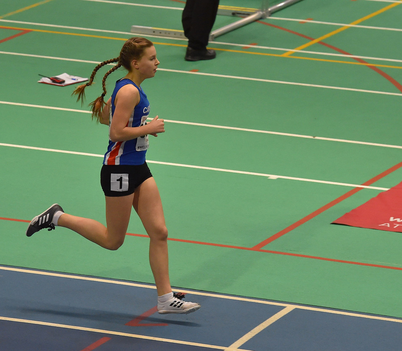 GGS_0086.jpg :: in action during the Welsh Junior Athletics Championships 2019 at N.I.A.C Cardiff United Kingdom on February 02 2019 Graham / GlennSports