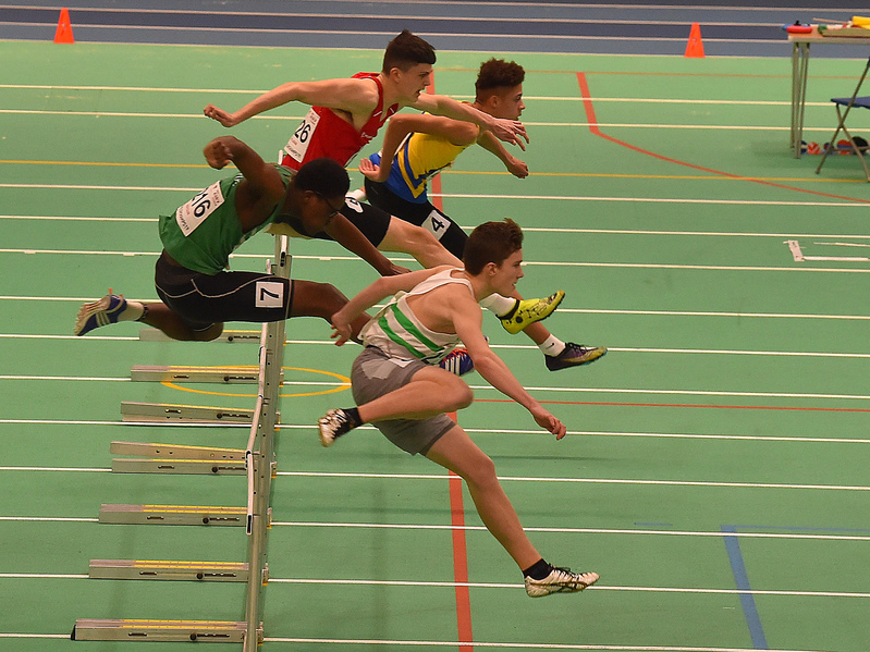 GGS_0091.jpg :: in action during the Welsh Junior Athletics Championships 2019 at N.I.A.C Cardiff United Kingdom on February 02 2019 Graham / GlennSports