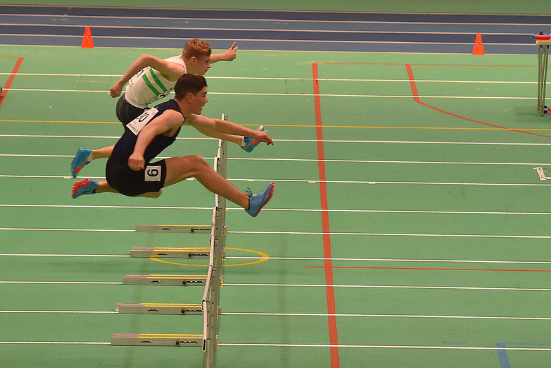 GGS_0095.jpg :: in action during the Welsh Junior Athletics Championships 2019 at N.I.A.C Cardiff United Kingdom on February 02 2019 Graham / GlennSports
