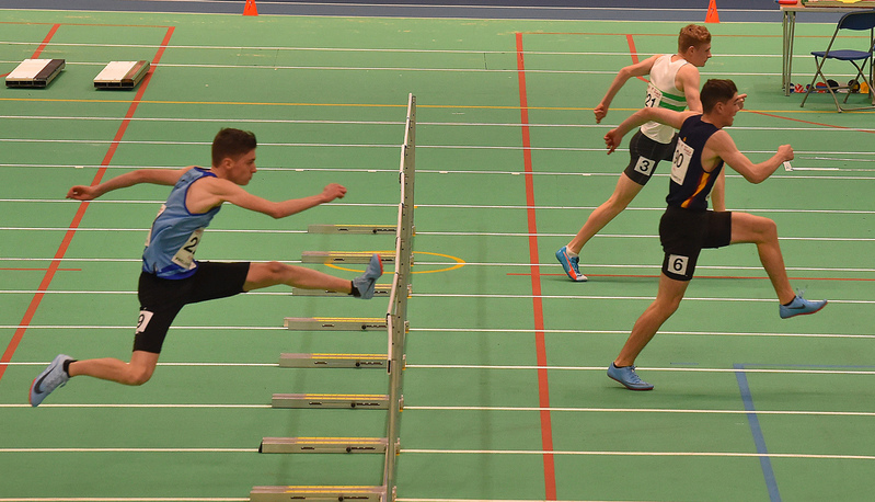 GGS_0098.jpg :: in action during the Welsh Junior Athletics Championships 2019 at N.I.A.C Cardiff United Kingdom on February 02 2019 Graham / GlennSports