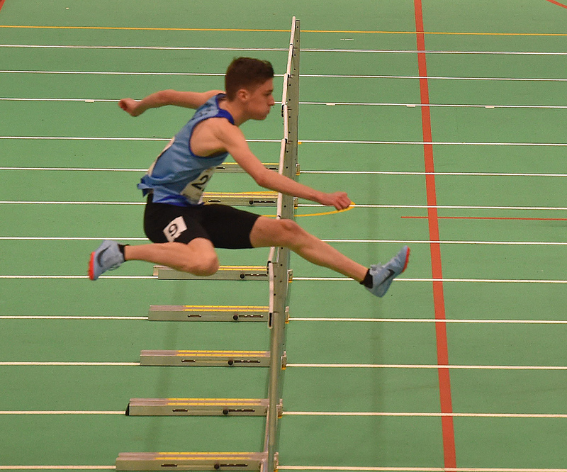 GGS_0099.jpg :: in action during the Welsh Junior Athletics Championships 2019 at N.I.A.C Cardiff United Kingdom on February 02 2019 Graham / GlennSports