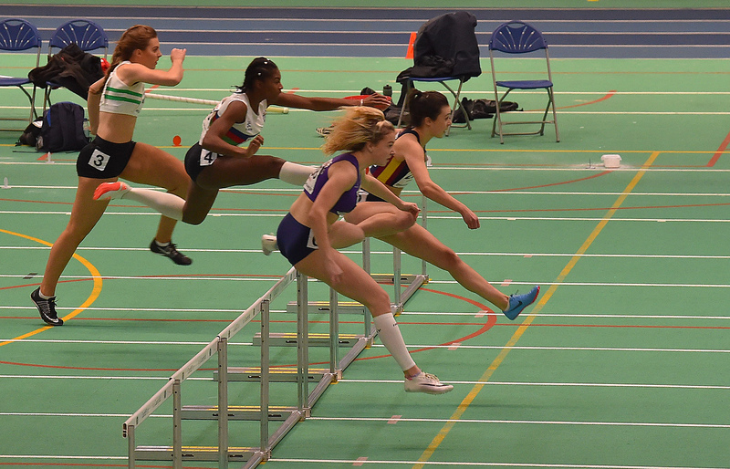 GGS_0108.jpg :: in action during the Welsh Junior Athletics Championships 2019 at N.I.A.C Cardiff United Kingdom on February 02 2019 Graham / GlennSports