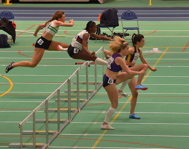 GGS_0109.jpg :: in action during the Welsh Junior Athletics Championships 2019 at N.I.A.C Cardiff United Kingdom on February 02 2019 Graham / GlennSports
