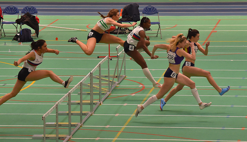 GGS_0110.jpg :: in action during the Welsh Junior Athletics Championships 2019 at N.I.A.C Cardiff United Kingdom on February 02 2019 Graham / GlennSports
