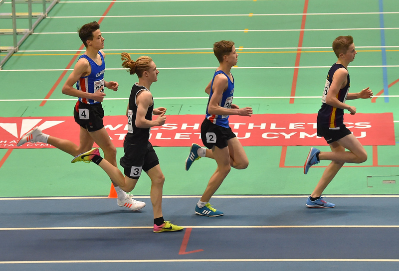 GGS_0115.jpg :: in action during the Welsh Junior Athletics Championships 2019 at N.I.A.C Cardiff United Kingdom on February 02 2019 Graham / GlennSports