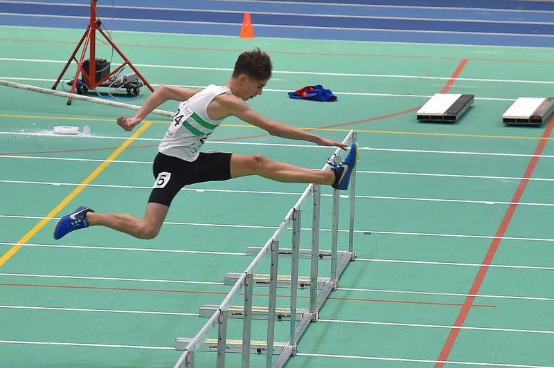 GGS_0118.jpg :: in action during the Welsh Junior Athletics Championships 2019 at N.I.A.C Cardiff United Kingdom on February 02 2019 Graham / GlennSports