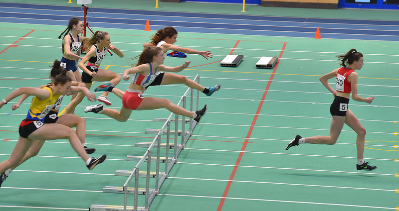 GGS_0130.jpg :: in action during the Welsh Junior Athletics Championships 2019 at N.I.A.C Cardiff United Kingdom on February 02 2019 Graham / GlennSports