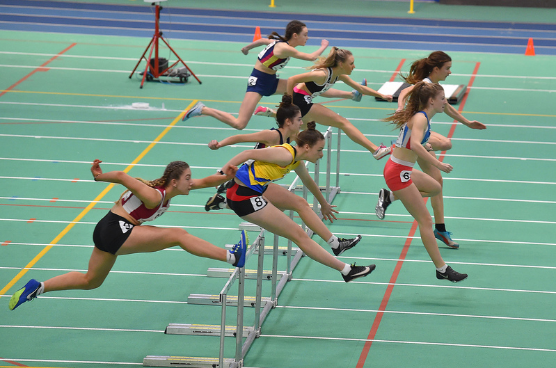 GGS_0132.jpg :: in action during the Welsh Junior Athletics Championships 2019 at N.I.A.C Cardiff United Kingdom on February 02 2019 Graham / GlennSports