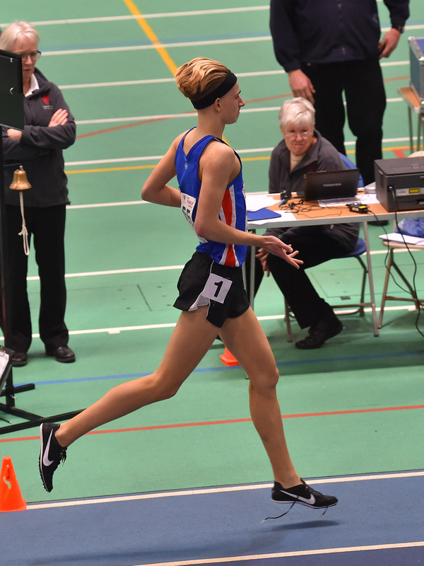 GGS_0140.jpg :: in action during the Welsh Junior Athletics Championships 2019 at N.I.A.C Cardiff United Kingdom on February 02 2019 Graham / GlennSports