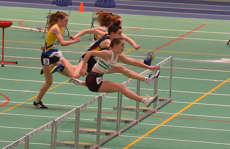 GGS_0144.jpg :: in action during the Welsh Junior Athletics Championships 2019 at N.I.A.C Cardiff United Kingdom on February 02 2019 Graham / GlennSports