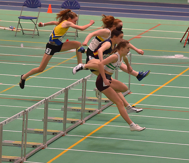 GGS_0145.jpg :: in action during the Welsh Junior Athletics Championships 2019 at N.I.A.C Cardiff United Kingdom on February 02 2019 Graham / GlennSports