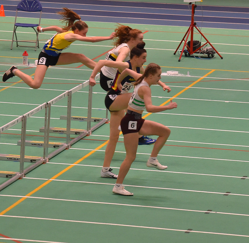 GGS_0146.jpg :: in action during the Welsh Junior Athletics Championships 2019 at N.I.A.C Cardiff United Kingdom on February 02 2019 Graham / GlennSports