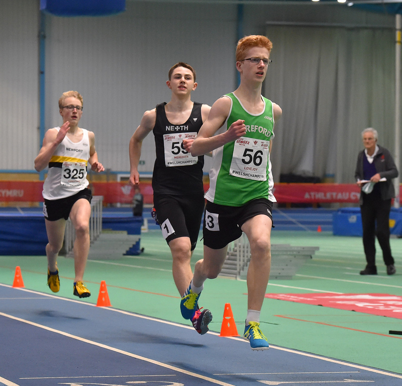 GGS_0158.jpg :: in action during the Welsh Junior Athletics Championships 2019 at N.I.A.C Cardiff United Kingdom on February 02 2019 Graham / GlennSports