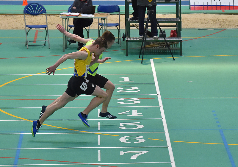 GGS_0162.jpg :: in action during the Welsh Junior Athletics Championships 2019 at N.I.A.C Cardiff United Kingdom on February 02 2019 Graham / GlennSports
