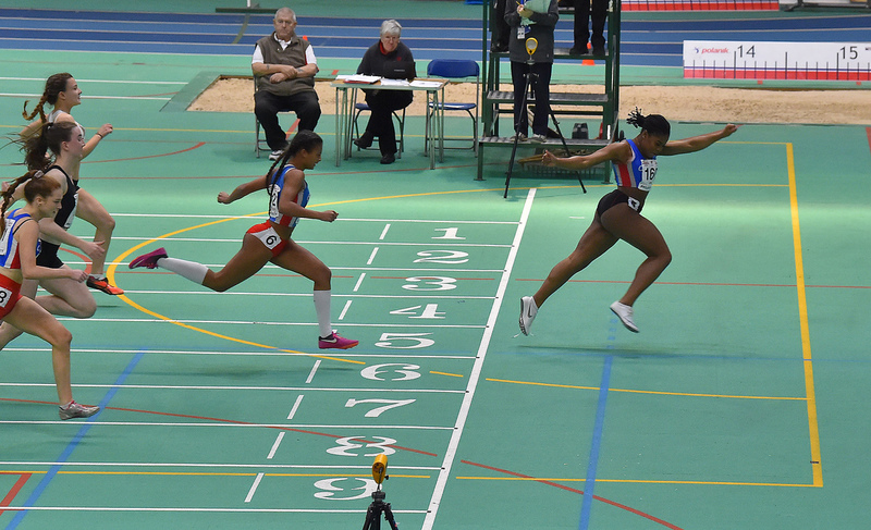 GGS_0167.jpg :: in action during the Welsh Junior Athletics Championships 2019 at N.I.A.C Cardiff United Kingdom on February 02 2019 Graham / GlennSports