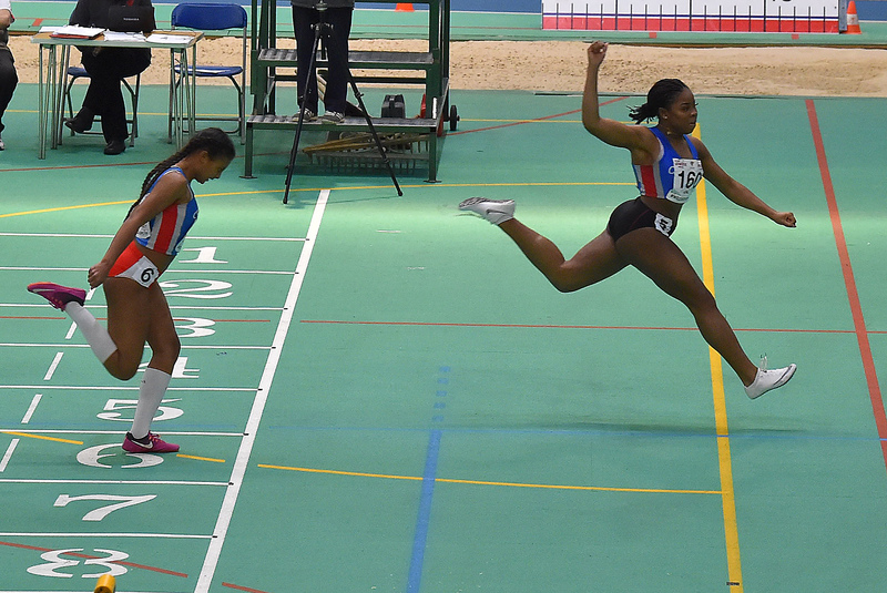 GGS_0168.jpg :: in action during the Welsh Junior Athletics Championships 2019 at N.I.A.C Cardiff United Kingdom on February 02 2019 Graham / GlennSports