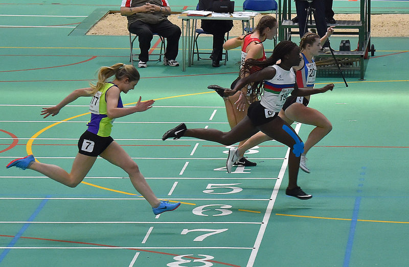 GGS_0182.jpg :: in action during the Welsh Junior Athletics Championships 2019 at N.I.A.C Cardiff United Kingdom on February 02 2019 Graham / GlennSports