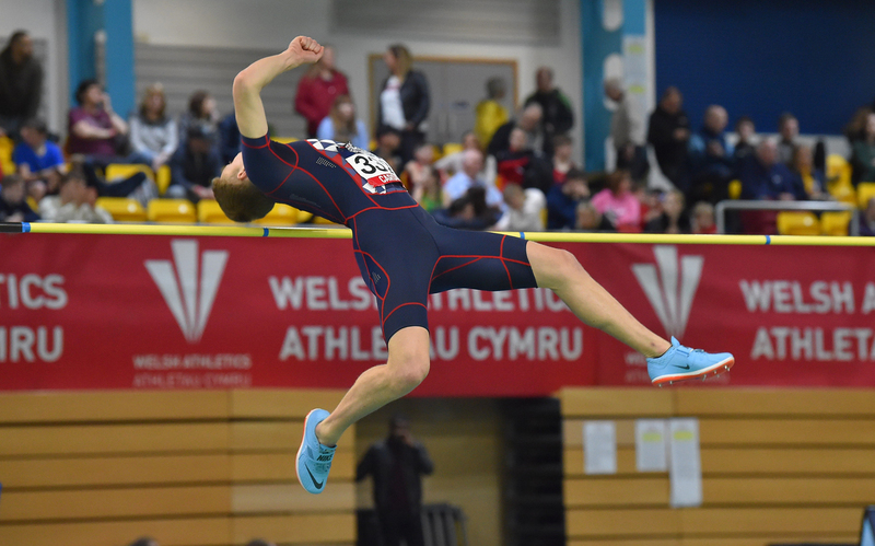GGS_9346.jpg :: in action during the Welsh Senior Athletics Championships 2019 at N.I.A.C Cardiff United Kingdom on January 26 2019 Graham / GlennSports