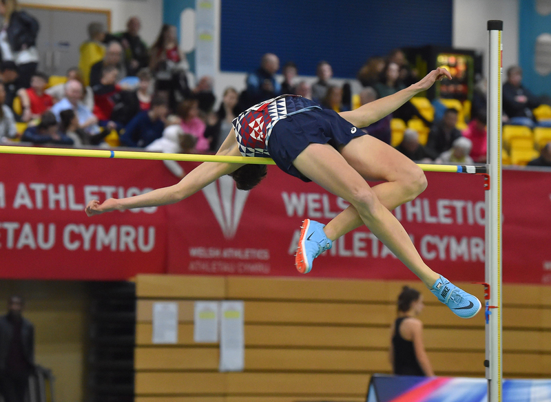 GGS_9349.jpg :: in action during the Welsh Senior Athletics Championships 2019 at N.I.A.C Cardiff United Kingdom on January 26 2019 Graham / GlennSports