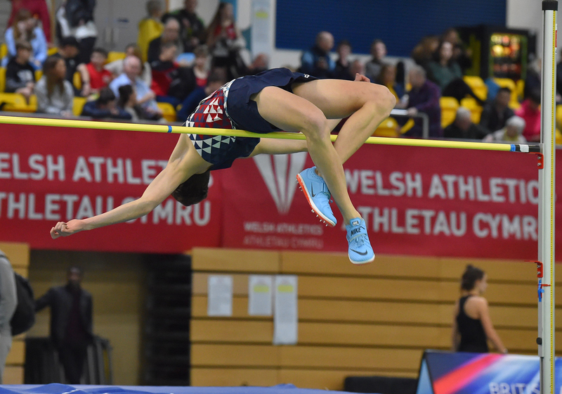 GGS_9350.jpg :: in action during the Welsh Senior Athletics Championships 2019 at N.I.A.C Cardiff United Kingdom on January 26 2019 Graham / GlennSports