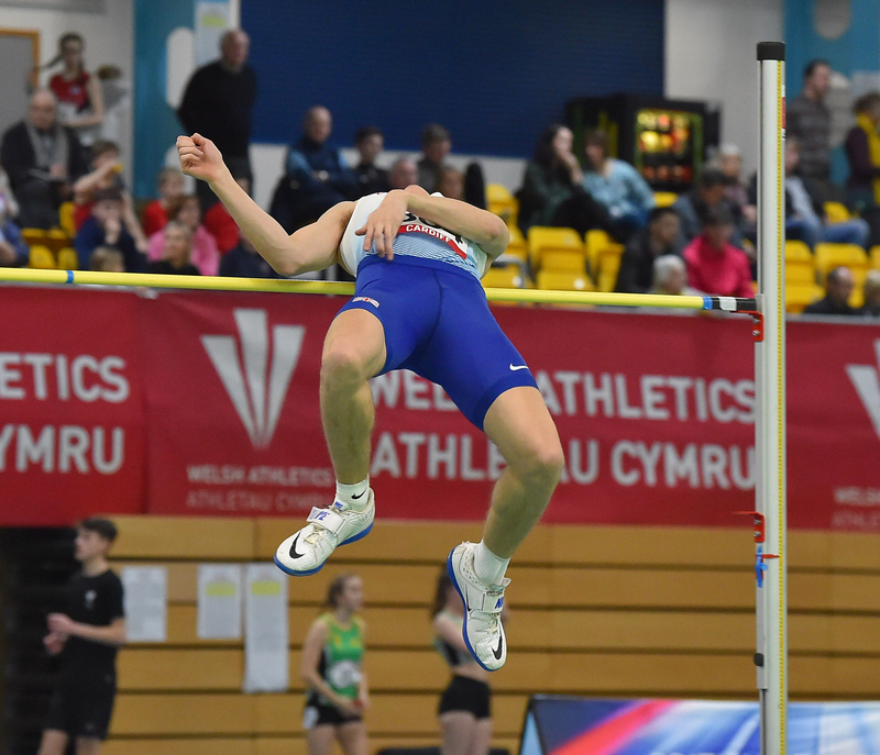 GGS_9356.jpg :: in action during the Welsh Senior Athletics Championships 2019 at N.I.A.C Cardiff United Kingdom on January 26 2019 Graham / GlennSports