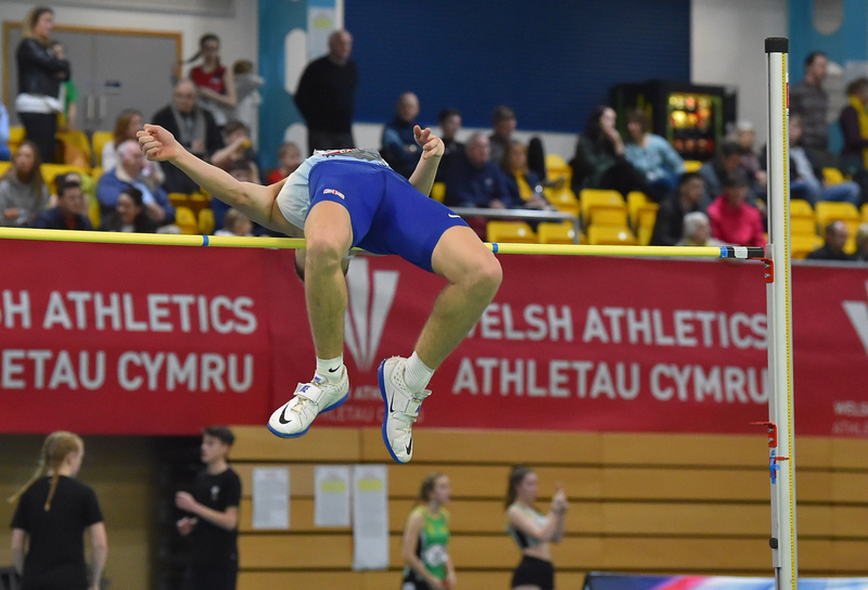 GGS_9357.jpg :: in action during the Welsh Senior Athletics Championships 2019 at N.I.A.C Cardiff United Kingdom on January 26 2019 Graham / GlennSports