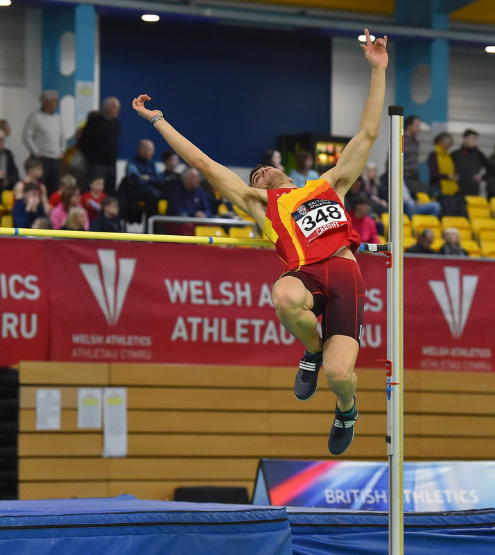GGS_9361.jpg :: in action during the Welsh Senior Athletics Championships 2019 at N.I.A.C Cardiff United Kingdom on January 26 2019 Graham / GlennSports