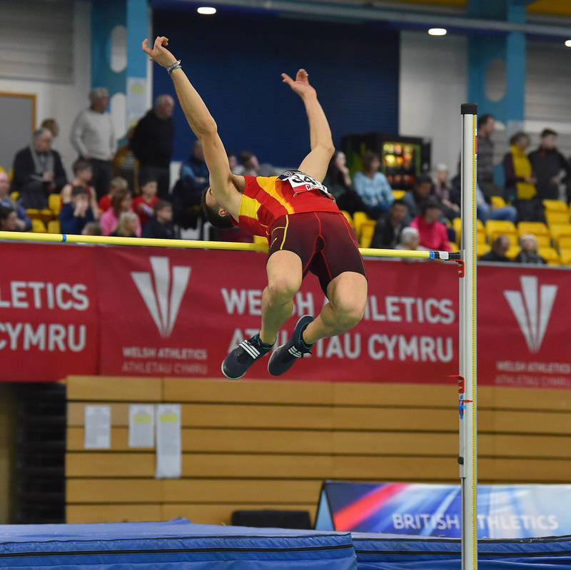 GGS_9362.jpg :: in action during the Welsh Senior Athletics Championships 2019 at N.I.A.C Cardiff United Kingdom on January 26 2019 Graham / GlennSports
