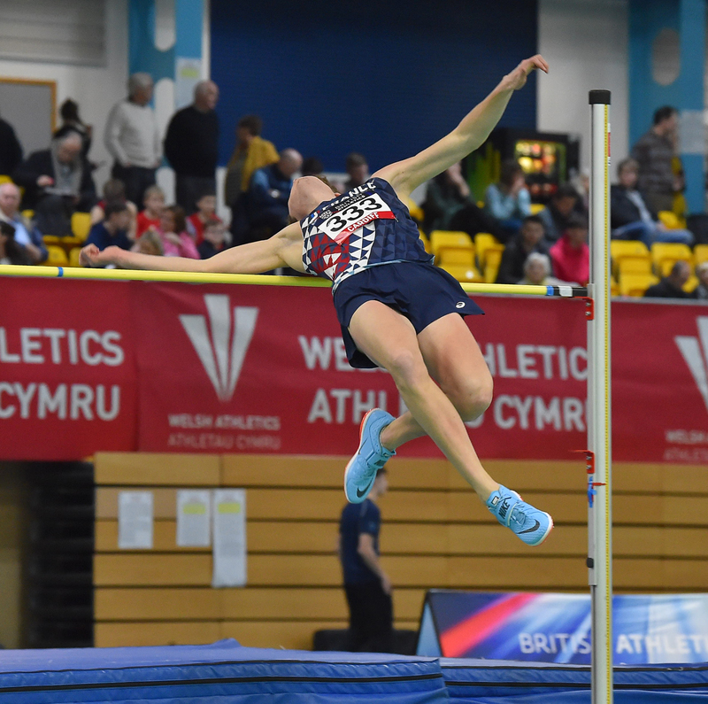 GGS_9365.jpg :: in action during the Welsh Senior Athletics Championships 2019 at N.I.A.C Cardiff United Kingdom on January 26 2019 Graham / GlennSports