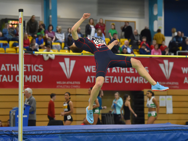 GGS_9367.jpg :: in action during the Welsh Senior Athletics Championships 2019 at N.I.A.C Cardiff United Kingdom on January 26 2019 Graham / GlennSports