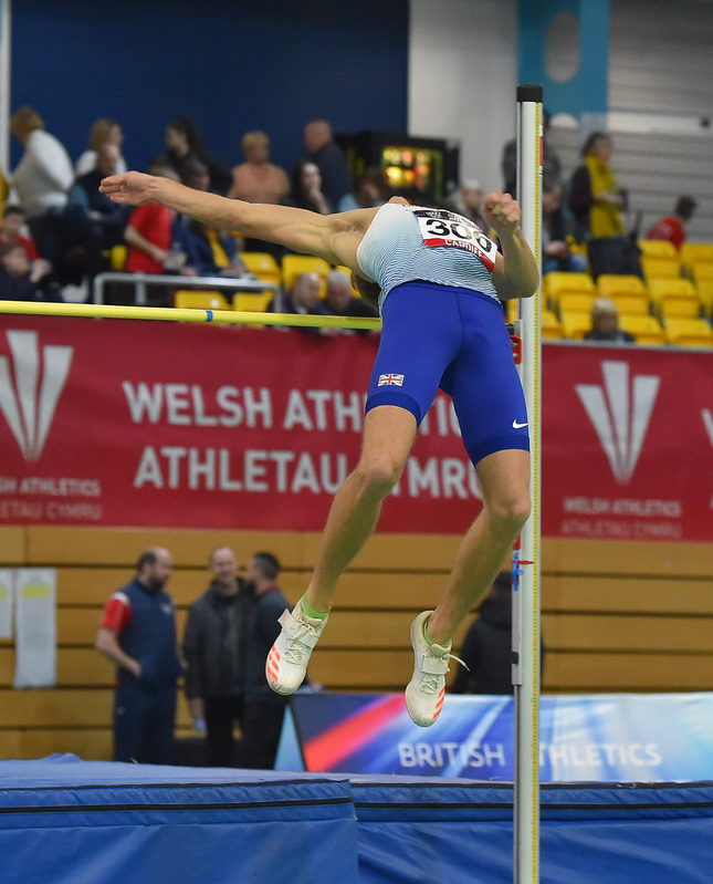 GGS_9371.jpg :: in action during the Welsh Senior Athletics Championships 2019 at N.I.A.C Cardiff United Kingdom on January 26 2019 Graham / GlennSports