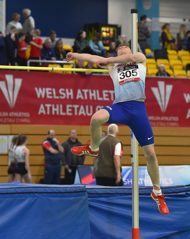 GGS_9379.jpg :: in action during the Welsh Senior Athletics Championships 2019 at N.I.A.C Cardiff United Kingdom on January 26 2019 Graham / GlennSports