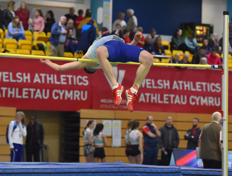 GGS_9382.jpg :: in action during the Welsh Senior Athletics Championships 2019 at N.I.A.C Cardiff United Kingdom on January 26 2019 Graham / GlennSports